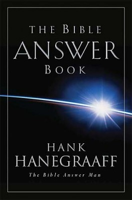 The Bible Answer Book, Hank Hanegraaff