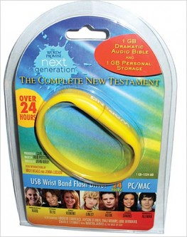 Word of Promise Next Generation - New Testament : Dramatized Audio Bible on USB Bracelet, Thomas Nelson