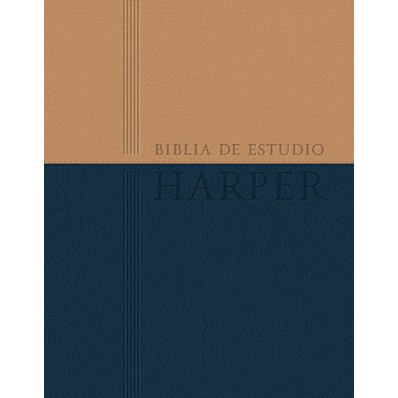 Biblia de estudio Harper : Duo tono con índice, RVR 1960- Reina Valera 1960