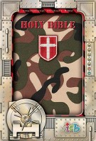 Compact Kids Bible : Green Camo, Thomas Nelson