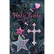 Sequin Bible - Black, Thomas Nelson